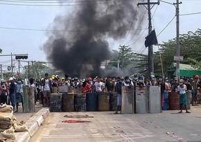 Myanmada öldürülən etirazçıların sayı 328 nəfərə çatdı