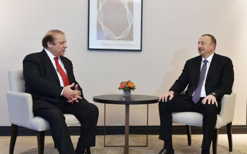 Prezident İlham Əliyev: Bizim üçün Pakistan dünyada ən yaxın müttəfiq ölkələrdəndir - FOTO