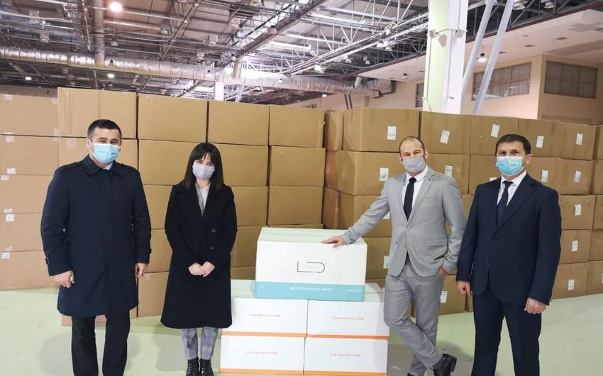 İsrail Azərbaycana tibbi-humanitar yardım göndərib
