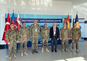 Командующий Сухопутными войсками Азербайджана встретился с генералом турецкой армии