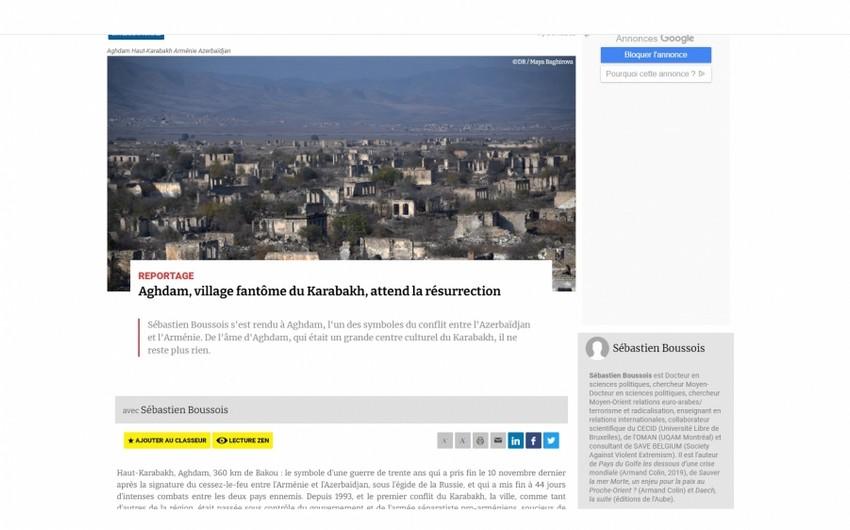 Atlantico: Карабахский город-призрак Агдам ждет своего возрождения
