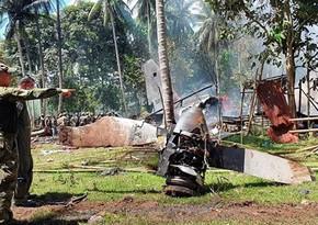 Увеличилось число погибших при крушении военного самолета на Филиппинах