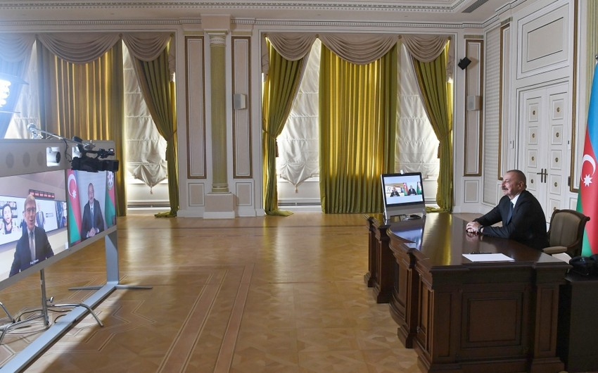 President Ilham Aliyev gives interview to USTV channel Fox News