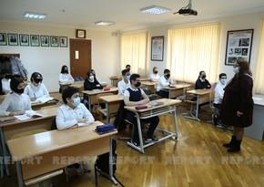 Cитуация с коронавирусом в школах Баку