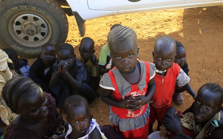 Cənubi Sudanda 1 milyon insan aclıq həddindədir