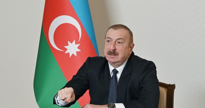 Ильхам Алиев: Тандем НФА-Мусават грабил, разваливал страну