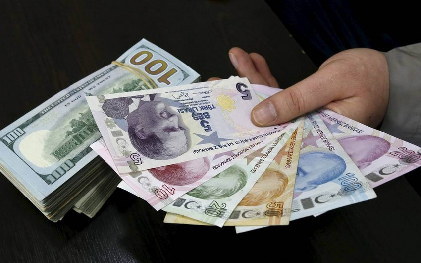 Türkiyədə dolların məzənnəsi 3,70 lirəni keçib