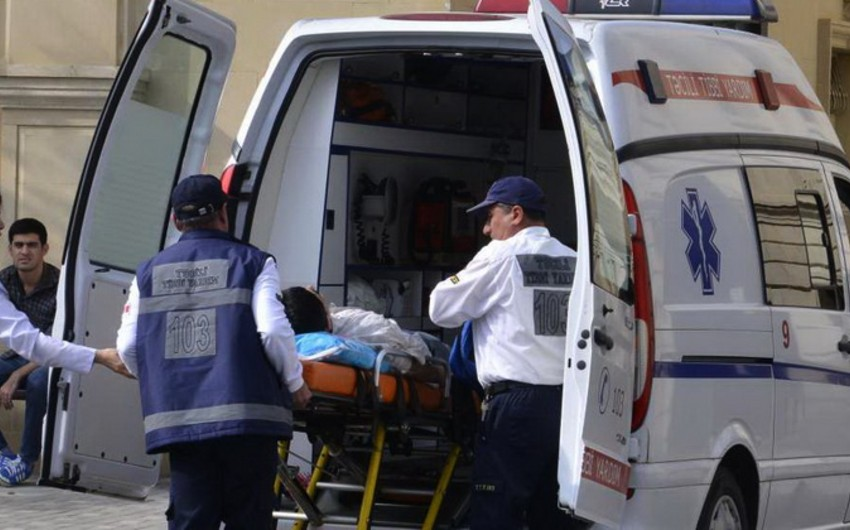 Bakıda sərnişin avtobusunun vurduğu piyada yaddaşını itirib