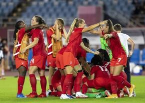 Tokio-2020: Qadınların futbol turnirində finalçılar müəyyənləşib