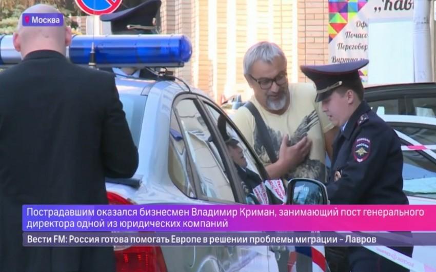Moskvanın mərkəzində yəhudi iş adamı güllələnib