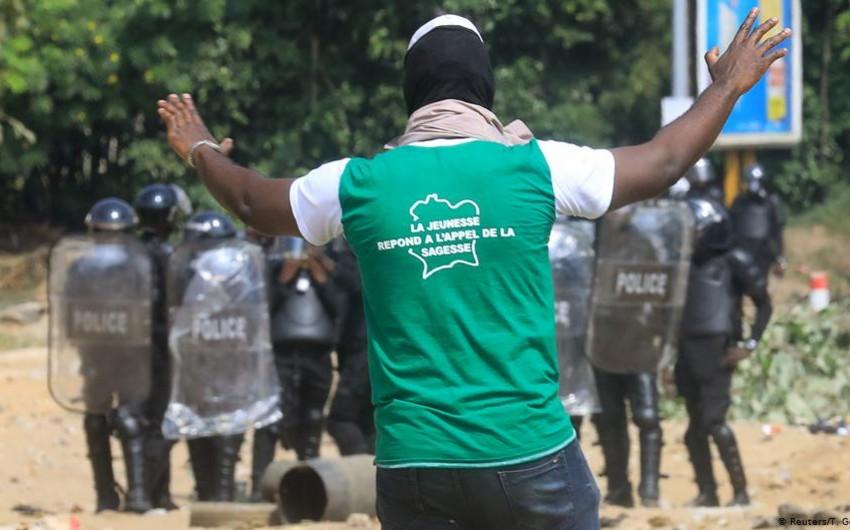 В Кот-д'Ивуаре при столкновениях с полицией погибли пятеро демонстрантов
