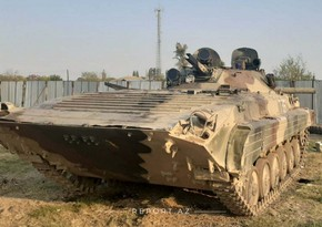 Düşmənin daha bir neçə tankı hərbi qənimət kimi götürülüb