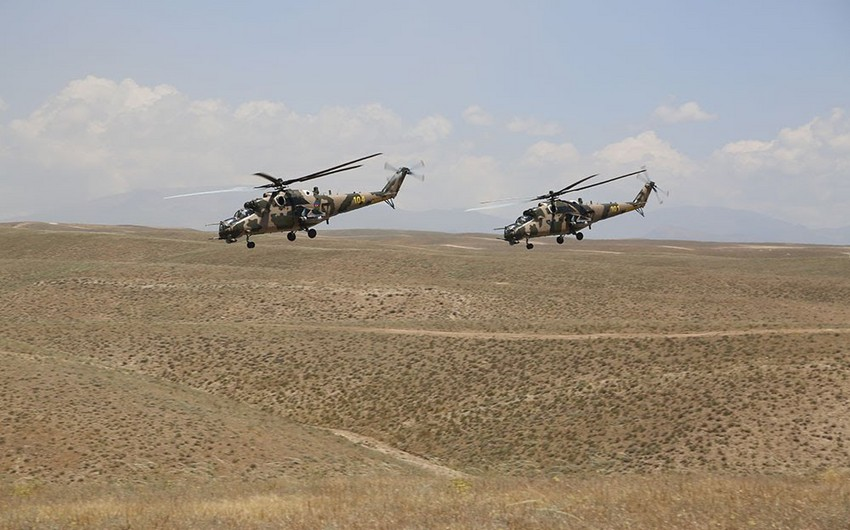 Joint tactical exercises of the Armed Forces of Azerbaijan and Turkey continue - VIDEO