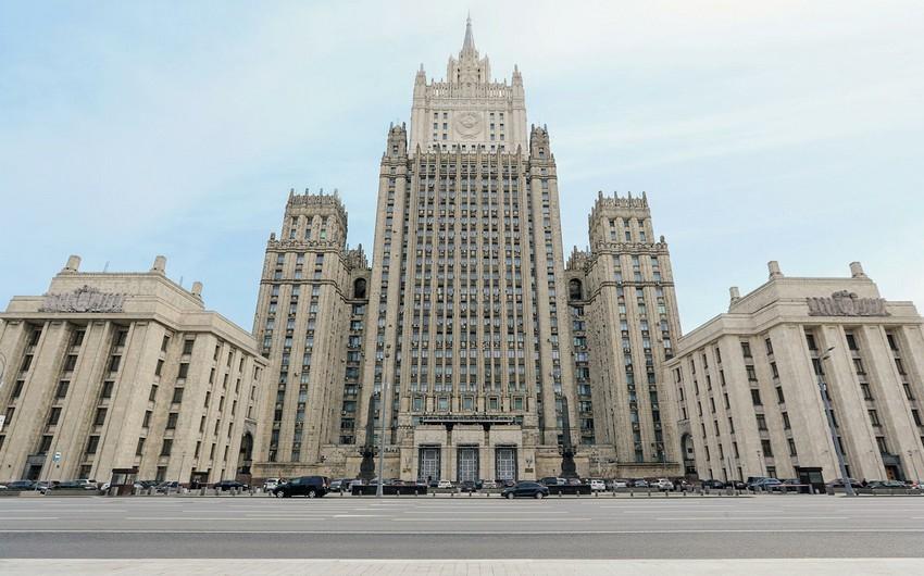 Rusiya XİN: Bakı və İrəvanı problemləri siyasi-diplomatik yolla həll etməyə çağırırıq