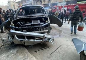 1 civilian dead, 3 hurt in NW Syria terror attack