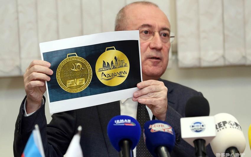 Bakıda keçiriləcək paracüdo üzrə Qran-prinin loqo və medalları təqdim edilib