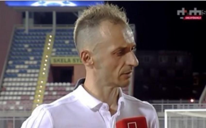 Ansi Aqolli: Albaniya komandasına qarşı ilk dəfə oynadığım hiss olunurdu