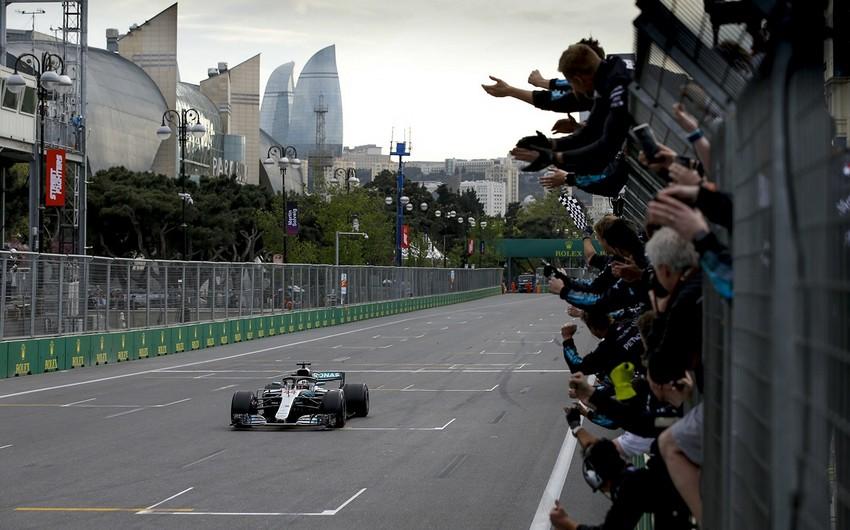 Bakıdakı Formula 1 yarışının təqvimi açıqlandı