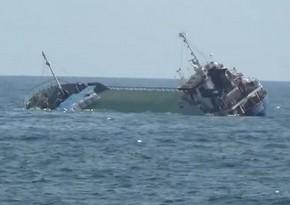 Ship with 18 passengers on board sinks off Greek coast