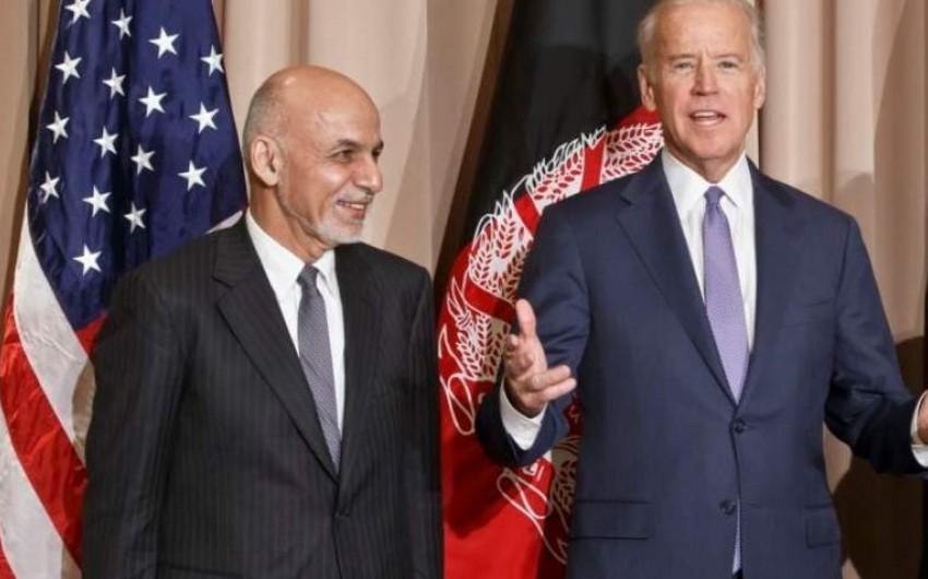 ABŞ prezidenti əfqanıstanlı həmkarı ilə telefonla danışıb