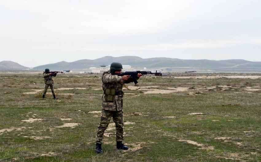 Azerbaijani MoD: Competitions define the best battalion commanders