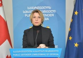 Gürcüstan ombudsmanı Dmanisi hadisələrinə reaksiya verib