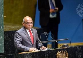BMT Baş Assambleyasının yeni prezidenti seçildi