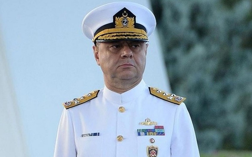 Commander of Turkish Naval Forces arrives in Azerbaijan