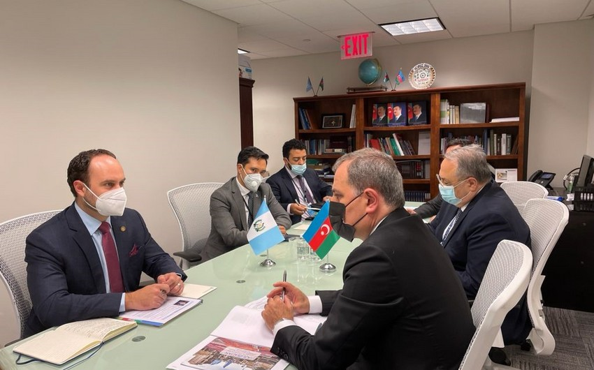 Bayramov meets with counterparts from Non-Aligned Movement countries in UN