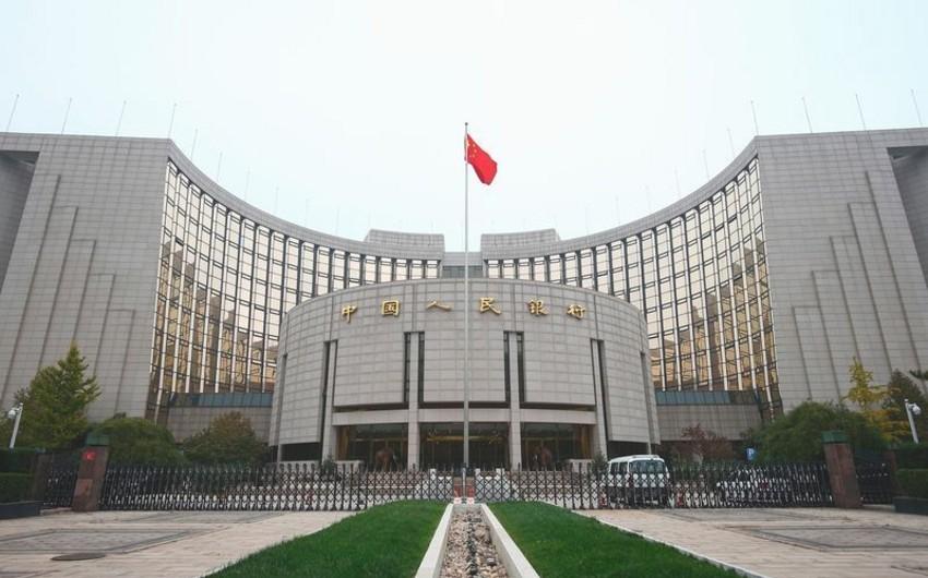 Çin Mərkəzi Bankı uçot dərəcəsini endirib