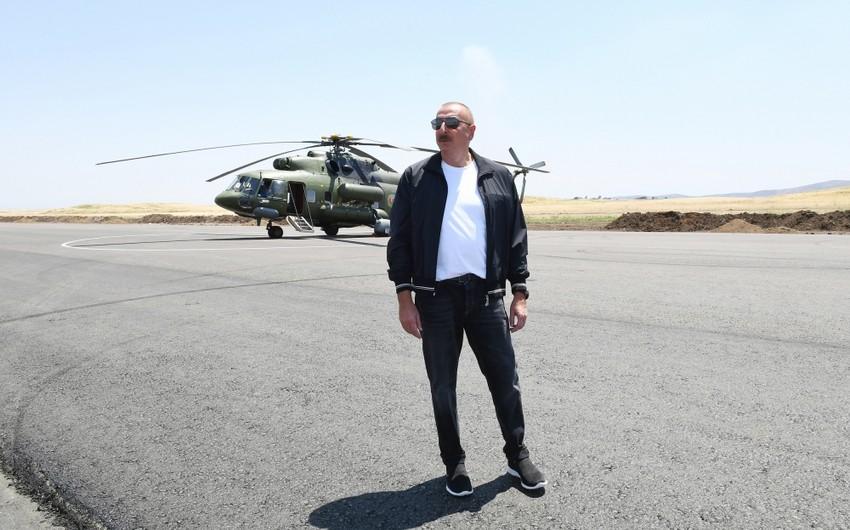 Azərbaycan Prezidenti: Bizim bütün su ehtiyatlarımız araşdırılır, təhlil edilir