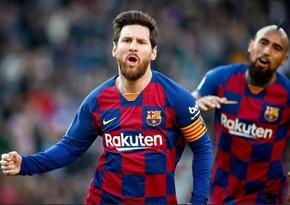 Messi Çempionlar Liqasında yeni nailiyyətə imza atdı