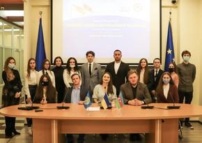 В Киеве прошло мероприятие для студентов, посвящённое украинско-азербайджанским дипотношениям