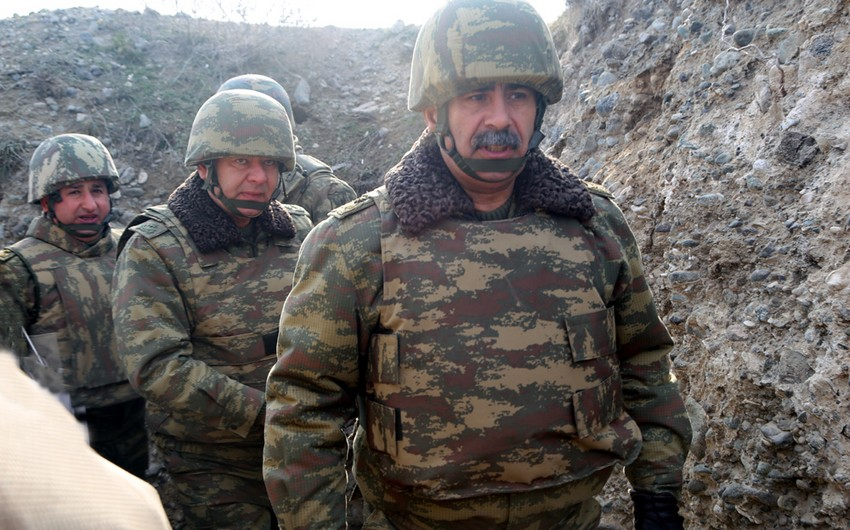 Azerbaijani MoD: Measures launched to prevent enemy's sabotage attempts on frontline - VIDEO