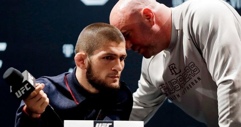 Президент UFC рассказал о предстоящей встрече с Нурмагомедовым
