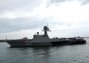 Rusiyanın hərbi gəmiləri Bakıya gəlib
