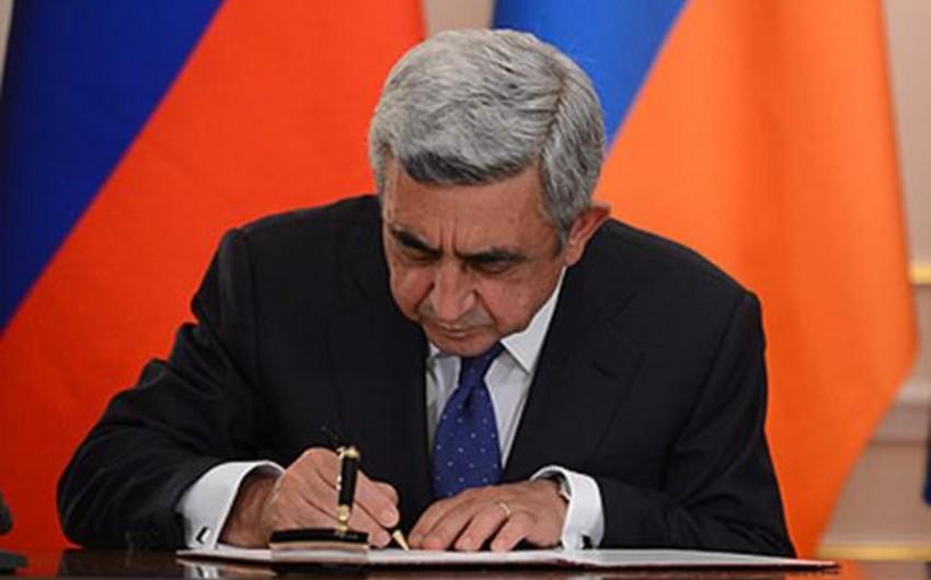 Ermənistan MTX direktorunun birinci müavini işdən azad edilib