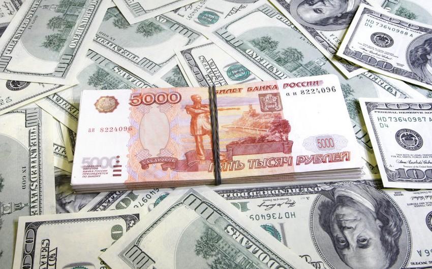 Rusiyada dolların məzənnəsi bu ilin minimumuna düşüb
