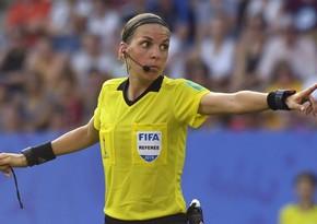 Матч Лиги Европы впервые обслужит женщина-арбитр