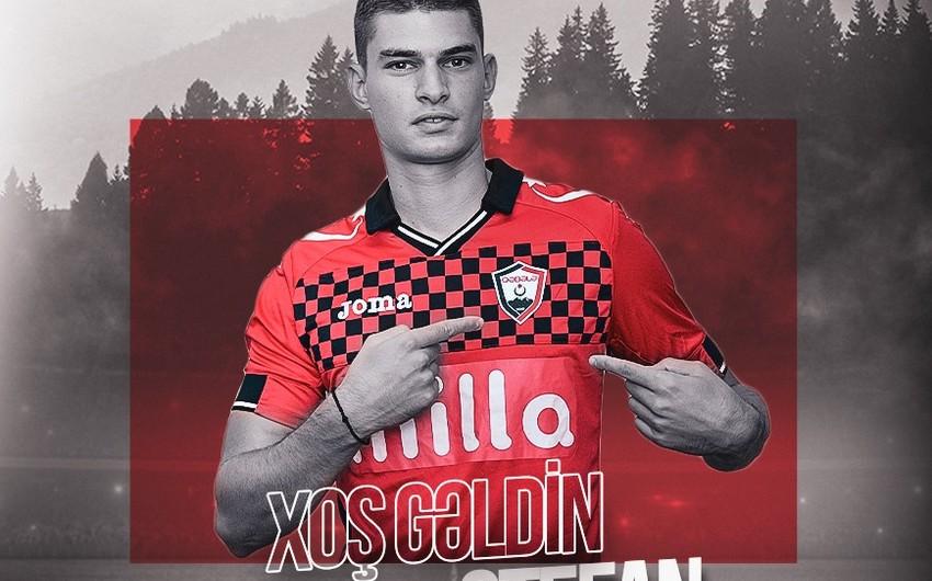 Qəbələ monteneqrolu futbolçu ilə müqavilə imzaladı