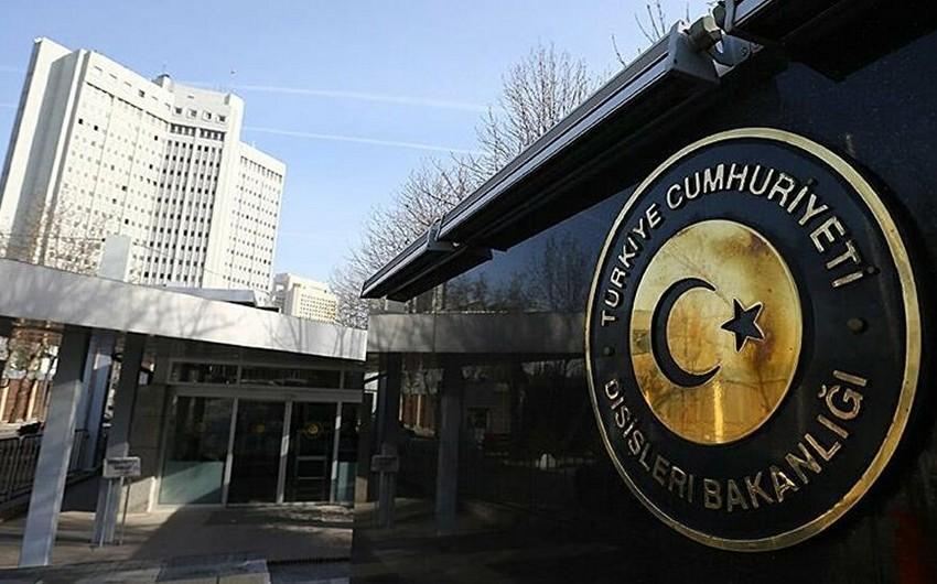 """Türkiyə XİN: """"Azərbaycanın yanındayıq"""""""