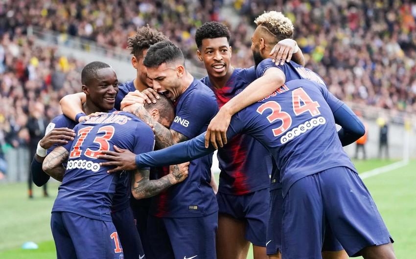 PSJ klubu tarixində 8-ci dəfə Fransa çempionu olub