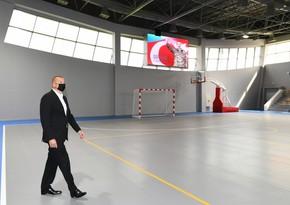 Goranboy Olimpiya İdman Kompleksinin açılışı olub - YENİLƏNİB
