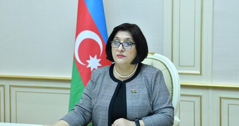 Спикер парламента поделилась публикацией в связи с освобождением Кельбаджара
