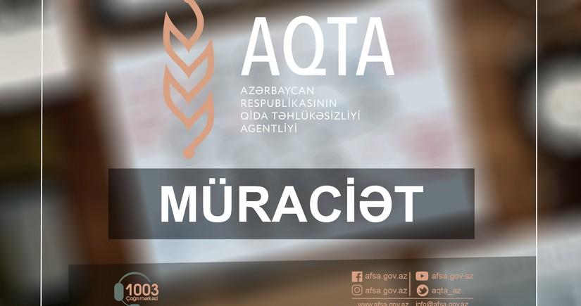 AQTA sahibkarlara çağırış etdi