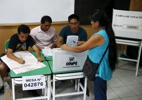 В Перу началось голосование на выборах президента, парламента и губернаторов