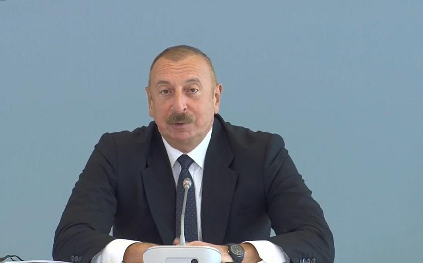 Президент: Мы ждем предложений от МГ ОБСЕ по урегулированию мирной жизни в регионе