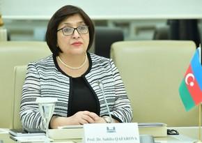 Sahibə Qafarova: Deputatın da, Milli Məclisin də yiyəsi Azərbaycan xalqıdır