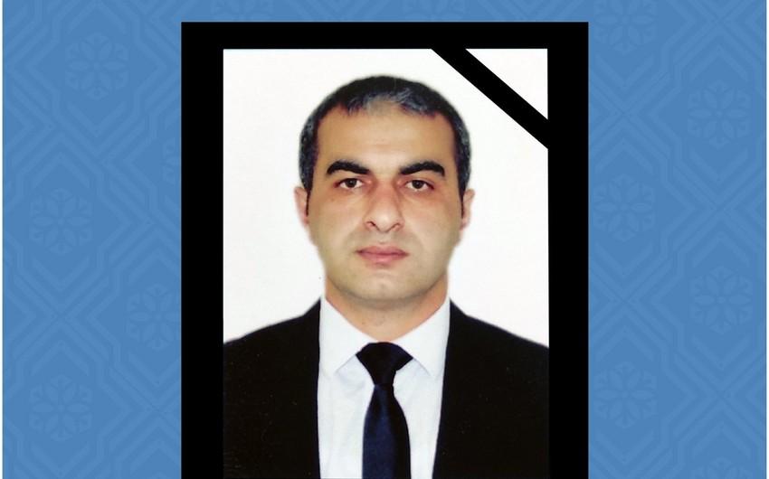 Dövlət Əmək Müfəttişliyi Xidmətinin əməkdaşı 33 yaşında vəfat edib