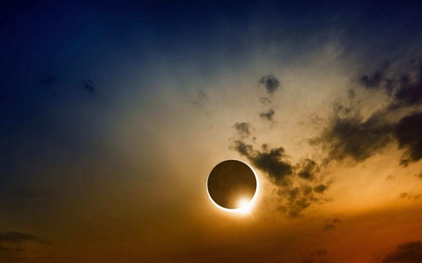 Bu ilin ilk Günəş tutulması başladı